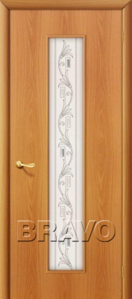 Двери ламинированные BRAVO: 24Х Л-12 (МиланОрех) в STEKLOMASTER