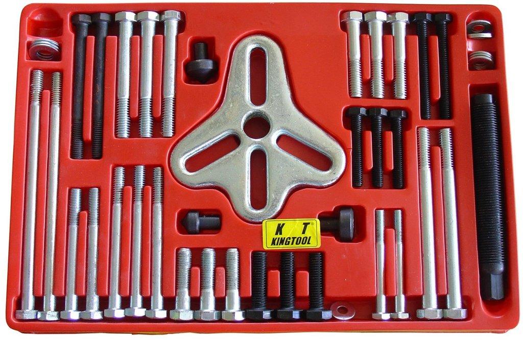 Съемники для ремонта и диагностики автомобилей: KA-1046 съемник шкивов с приспособлениями (46 предметов) в Арсенал, магазин, ИП Соколов В.Л.