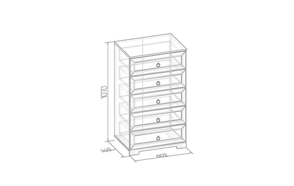 Комоды для дома: Комод Марсель 6 в Стильная мебель