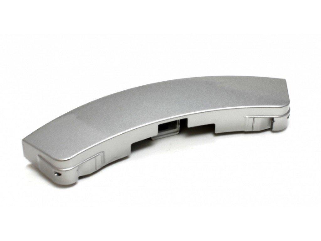 Ручки, крючки, петли, стекла и рамки люка для стиральной машины: Ручка люка для стиральной машины Samsung (Самсунг) серебро, DC64-00561D в АНС ПРОЕКТ, ООО, Сервисный центр