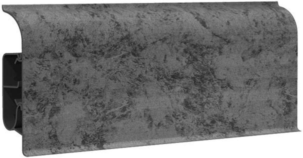Плинтуса напольные: Плинтус напольный 85  8507 черное серебро в Мир Потолков