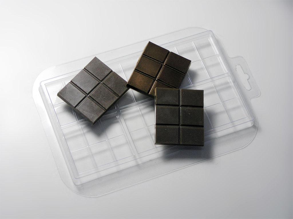 Пластиковые формы для шоколада: Форма для шоколада Плитка 15 гр в ТортExpress