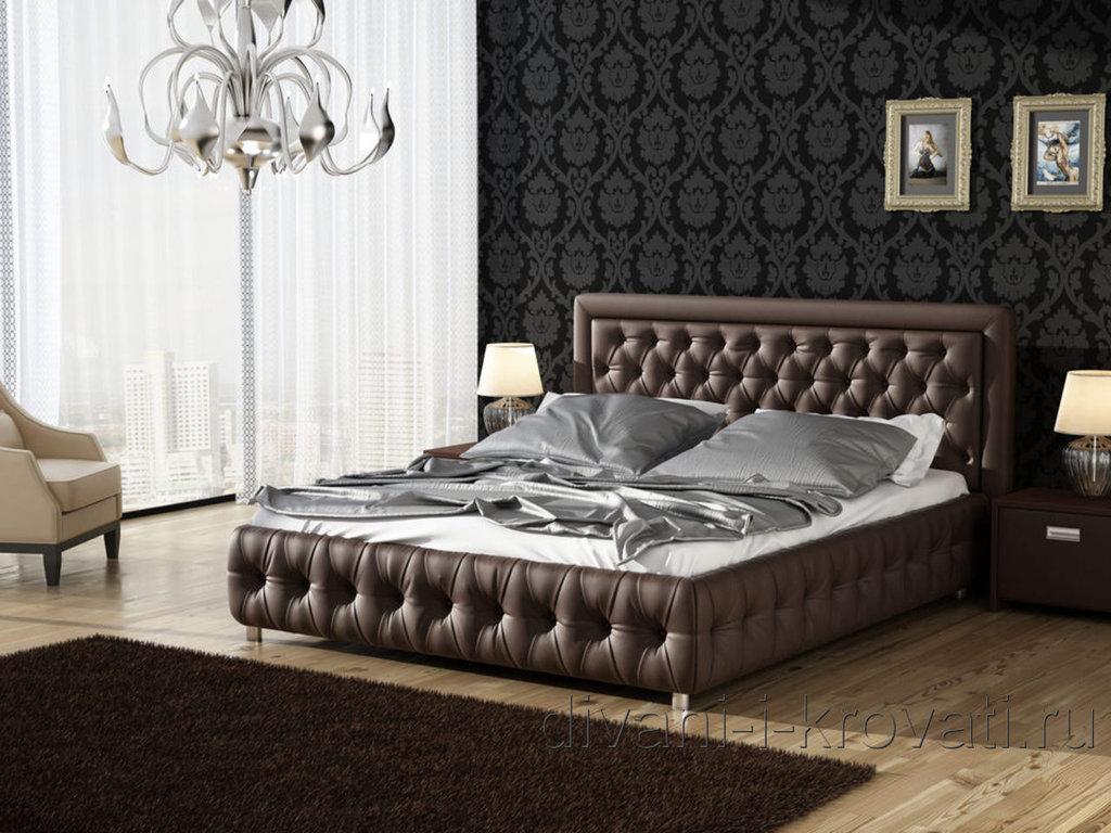 """Кровати: Кровать двуспальная """"Элена"""" в Амадео"""