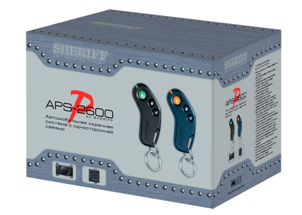 Автосигнализации с односторонней связью: Sheriff APS-2600 в Безопасность