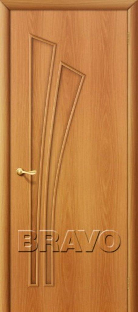Двери ламинированные BRAVO: 4Г Л-12 (МиланОрех) в STEKLOMASTER