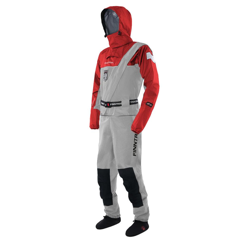Экипировка и аксессуары: Сухой костюм Finntrail Drysuit 2501 Gray L в Базис72