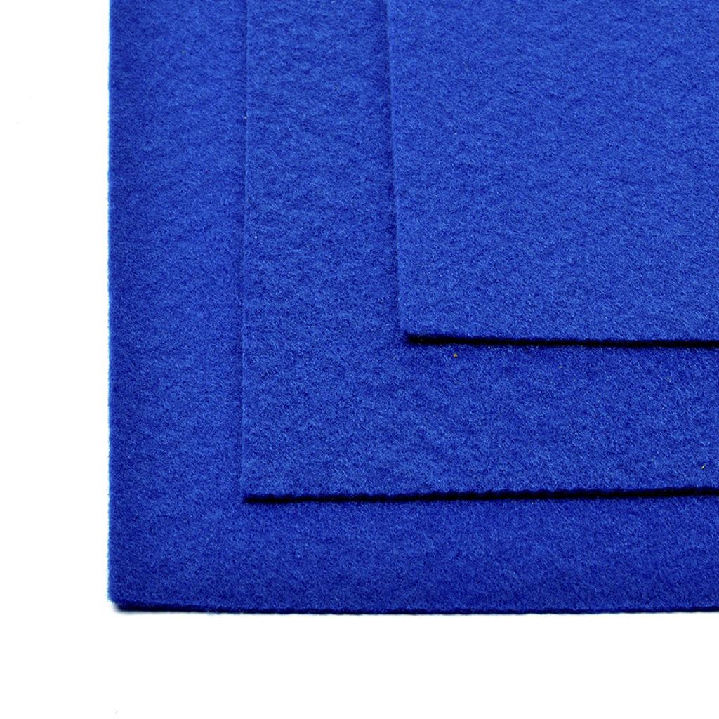 Фетр: IDEAL Фетр жёсткий 1мм 20*30см синий 1лист в Шедевр, художественный салон