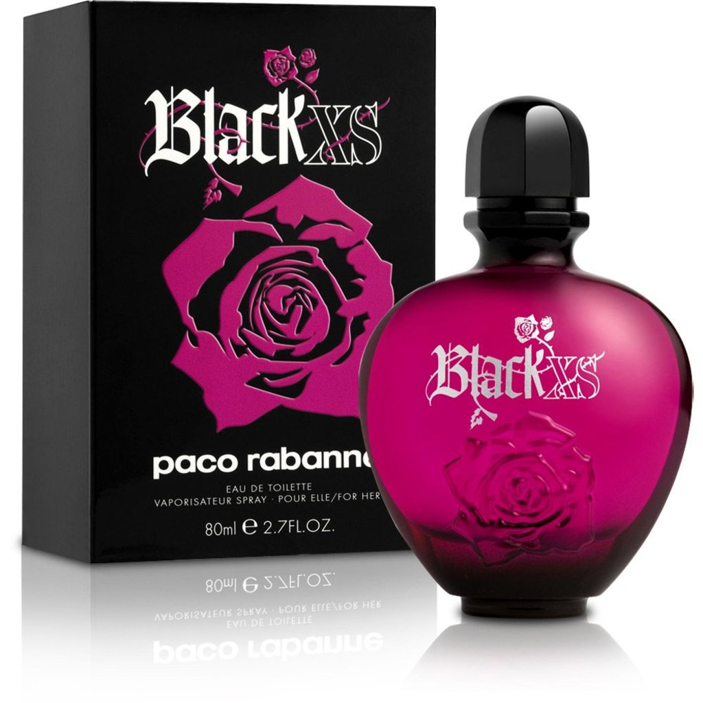 Paco Rabanne (Пако Рабан): Paco Rabanne Black XS For Her 80ml в Мой флакон