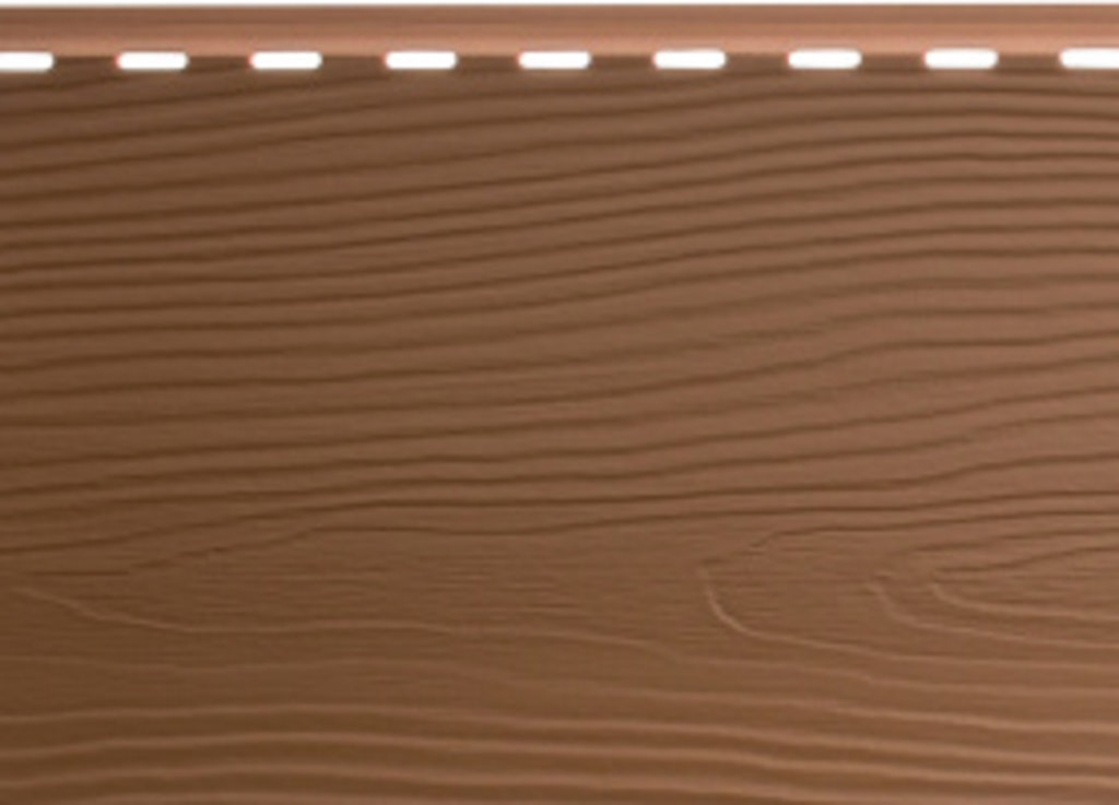 Вспененный сайдинг: Альта-Борд, Элит, панель ВС-01, светло- коричневая - 3,00х0,18м., Светло-коричневый в АНЧАР,  строительные материалы