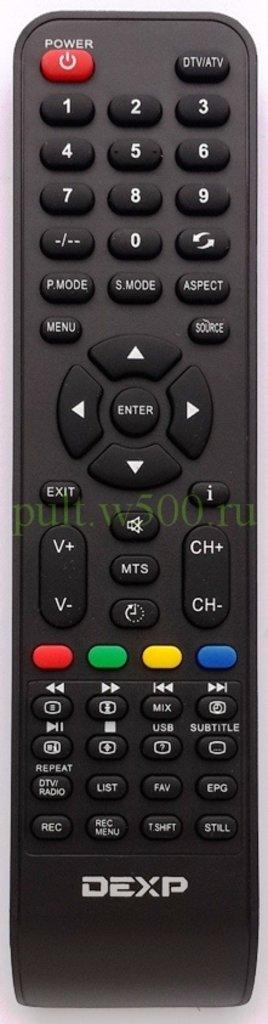 DEXP: Пульт DEXP F24B7200VE, H16B3200VE Dns (LCD) оригинал в A-Центр Пульты ДУ