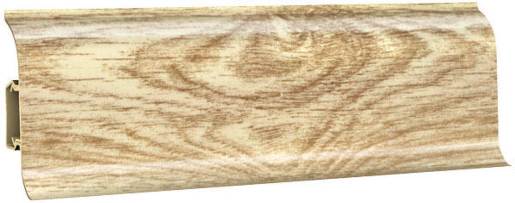 Плинтуса напольные: Плинтус напольный 60 ДП МК глянцевый 6002 дуб широ в Мир Потолков