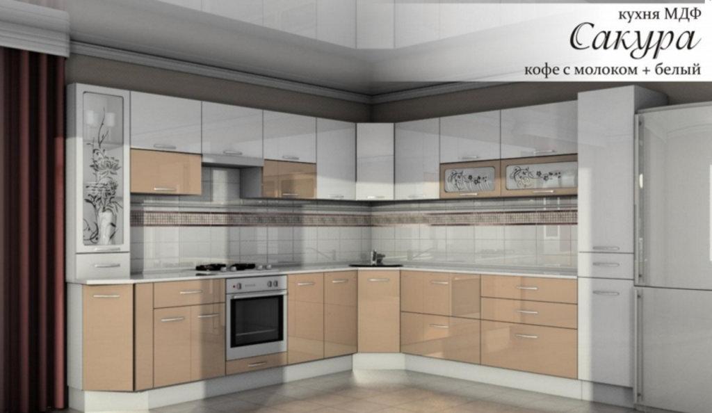 Кухни: модульная кухня Сакура в Уютный дом
