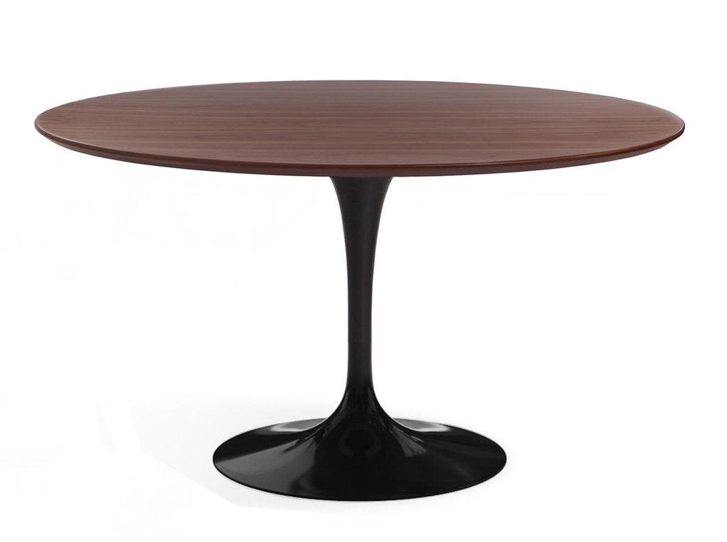 Столы обеденные: Стол обеденный Априори T круглый 120 см 15т орех в Актуальный дизайн
