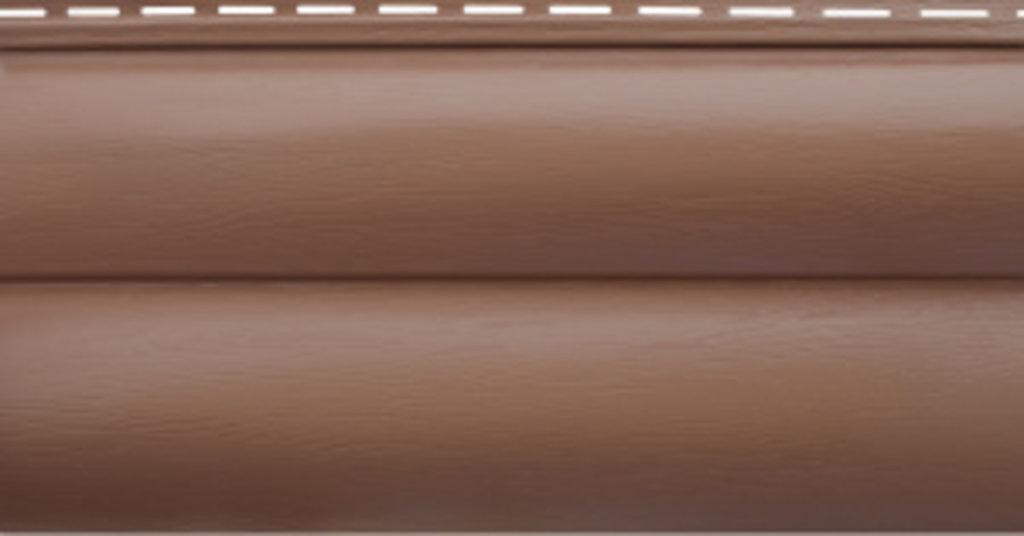 """Акриловый сайдинг: Блокхаус акриловый """"Красно-коричневый"""" BH-03 - 3,10м х 0,226м, Красно-коричневый в АНЧАР,  строительные материалы"""
