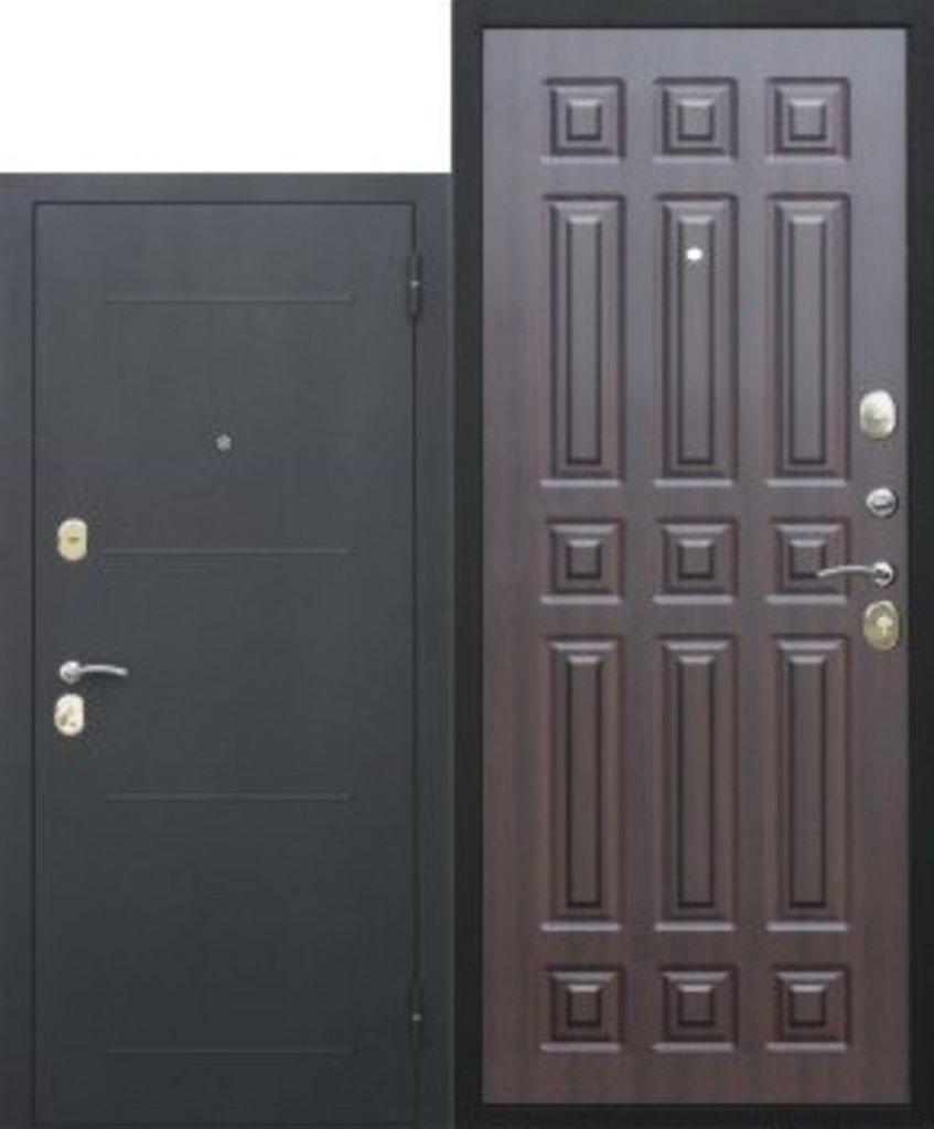 Двери завода Феррони: 7,5 cм Гарда Чёрный шёлк мдф 16 мм Венге в Модуль Плюс
