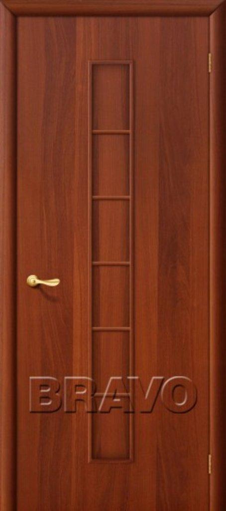 Двери ламинированные BRAVO: 2Г Л-11 (ИталОрех) в STEKLOMASTER