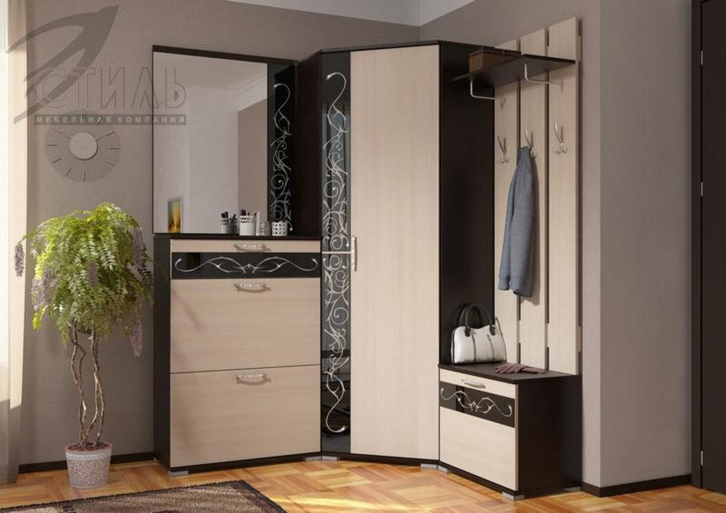 Мебель для прихожей Юнона-2: Зеркало с декором ЗН-07 Юнона-2 в Диван Плюс