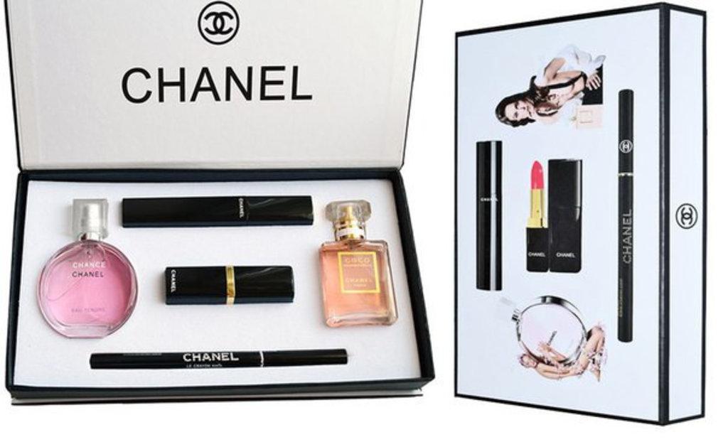 Chanel (Шанель): Набор парфюмерии+косметики Chanel 5 в 1 в Мой флакон
