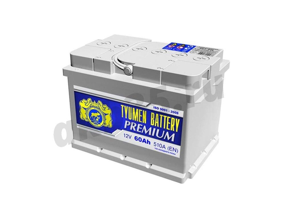 Аккумуляторы: Тюмень 60 А/ч Обратный Низкий PREMIUM в Планета АКБ