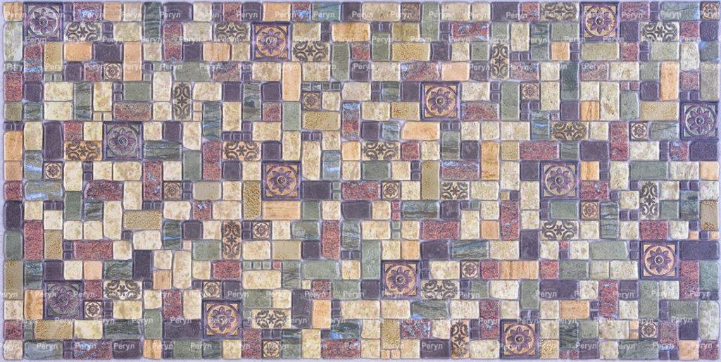 Панели ПВХ: Мозаика Травертин лайм в Мир Потолков