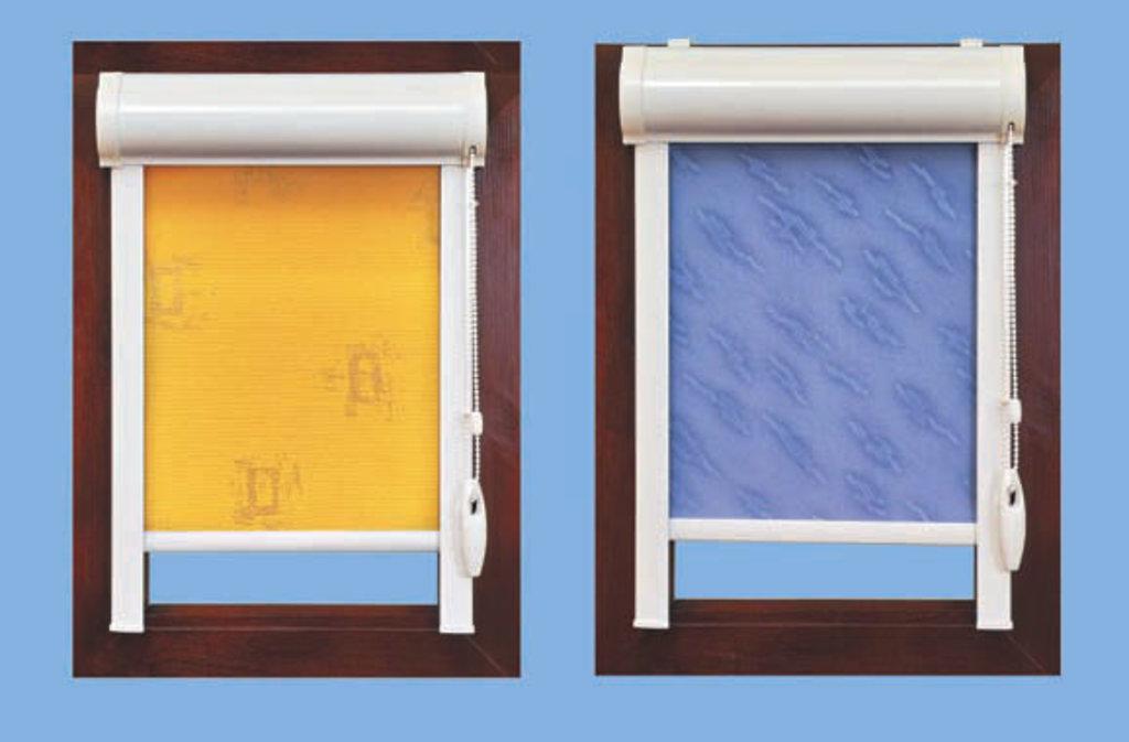 Рулонные жалюзи UNI от 1955 рублей: Рулонные жалюзи UNI в Пластиковые окна в Сургуте STEKLOMASTER