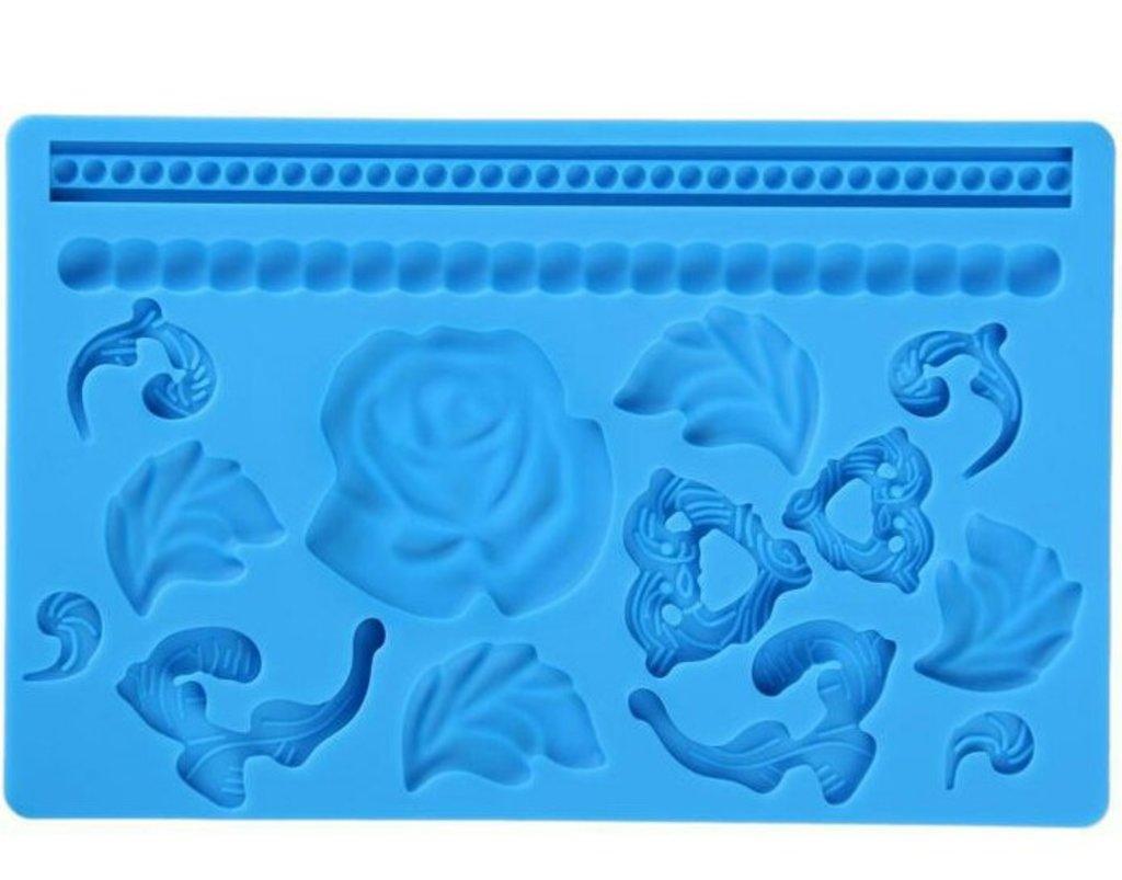 Кондитерский инвентарь: Молд Цветочный узор в ТортExpress