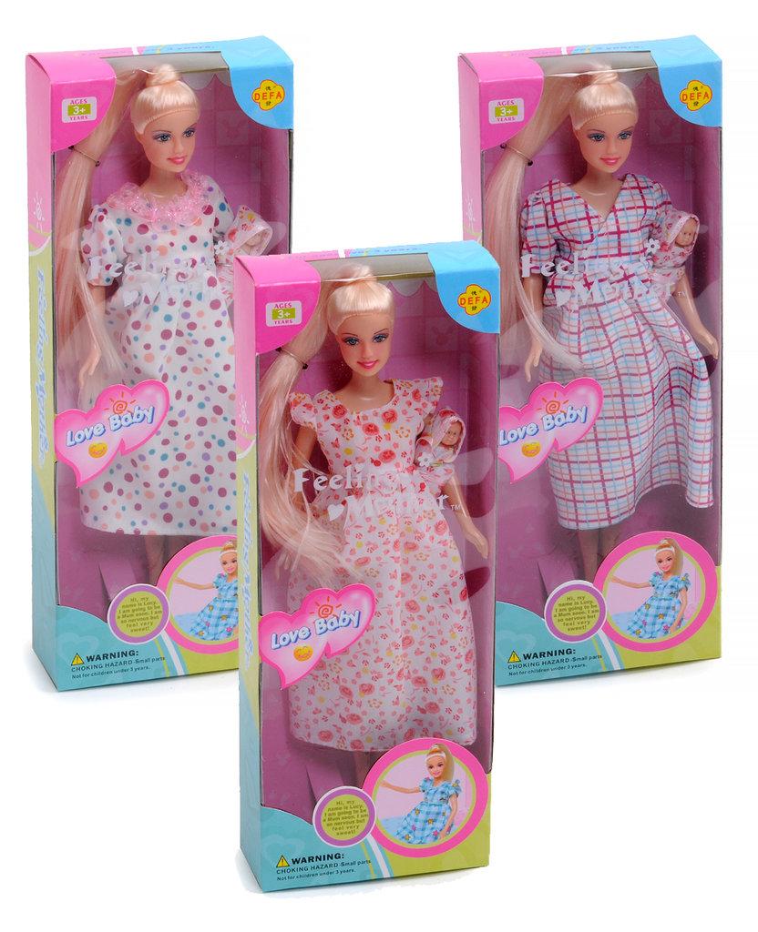 """Игрушки для девочек: Кукла + малыш """"Defa"""" в ассортименте в Игрушки Сити"""