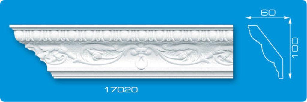 Плинтуса потолочные: Плинтус потолочный ФОРМАТ 17020 инжекционный длина 1,3м, широкий в Мир Потолков