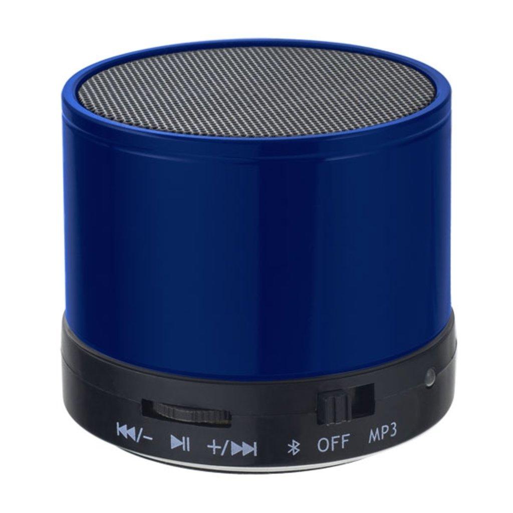 """Блютуз колонки: Bluetooth-колонка """"CAN"""" FM, MP3 microSD, AUX, мощность 3Вт, 500mAh, синяя ( Perfeo PF-BT-CN-BL ) в A-Центр Пульты ДУ"""