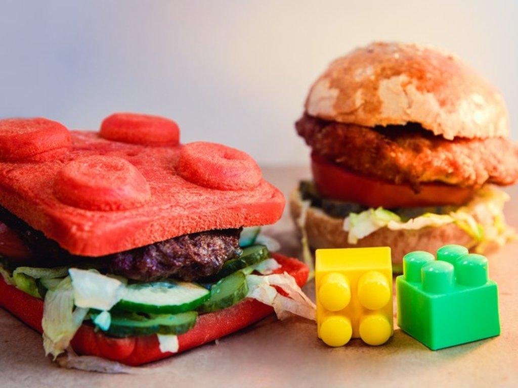 СОБЕРИ СВОЙ БУРГЕР: Нажми сюда - и собери свой бургер сам в Leggo burger