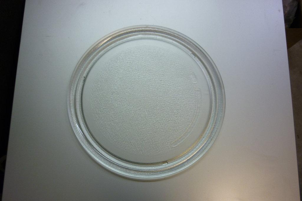 Запчасти для плит и микроволновых СВЧ печей (микроволновок): Тарелка для микроволновой печи СВЧ 285мм, (без креплениея под коплер, гладкая)  LG (ЛЖ) в АНС ПРОЕКТ, ООО, Сервисный центр
