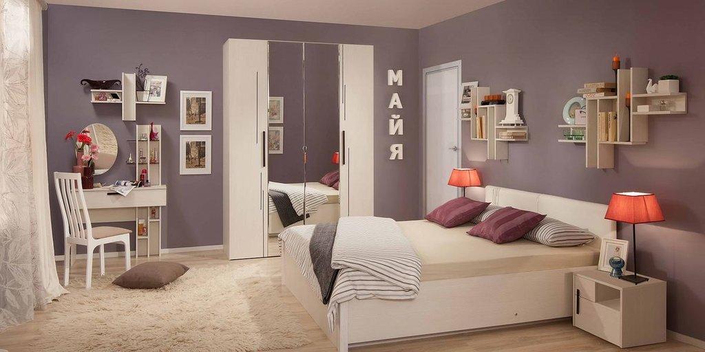 Модульная мебель в спальню Майя: Модульная мебель в спальню Майя в Стильная мебель