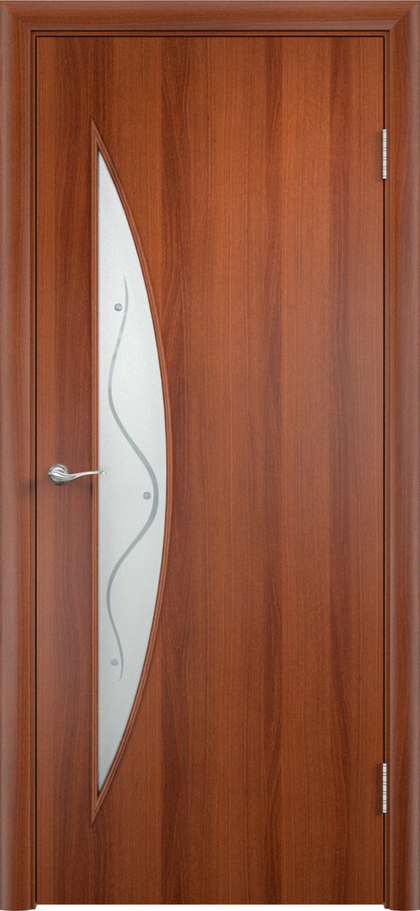 Двери Верда: Дверь межкомнатная С-6 (ф) в Салон дверей Доминго Ноябрьск