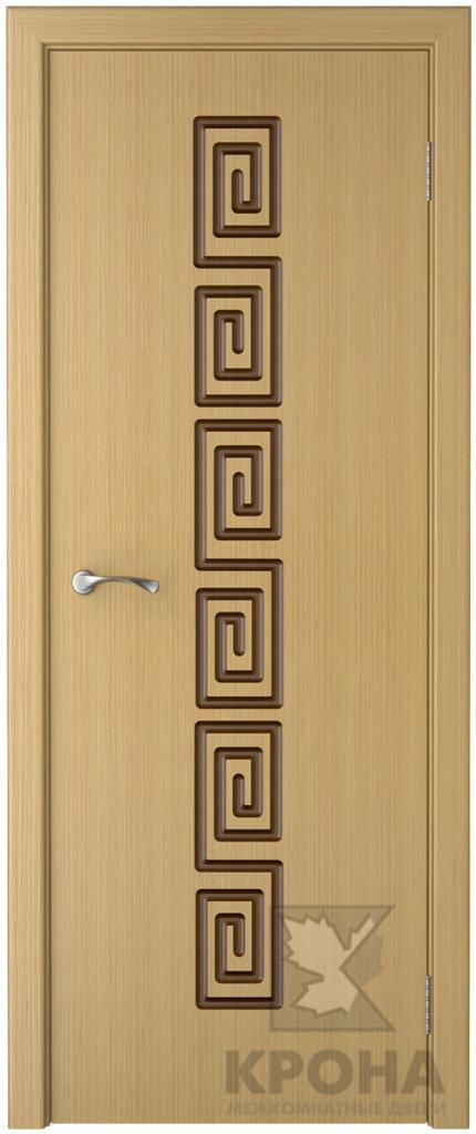 Двери Крона от 3 650 руб.: Фабрика Крона. Модель  Греция. в Двери в Тюмени, межкомнатные двери, входные двери