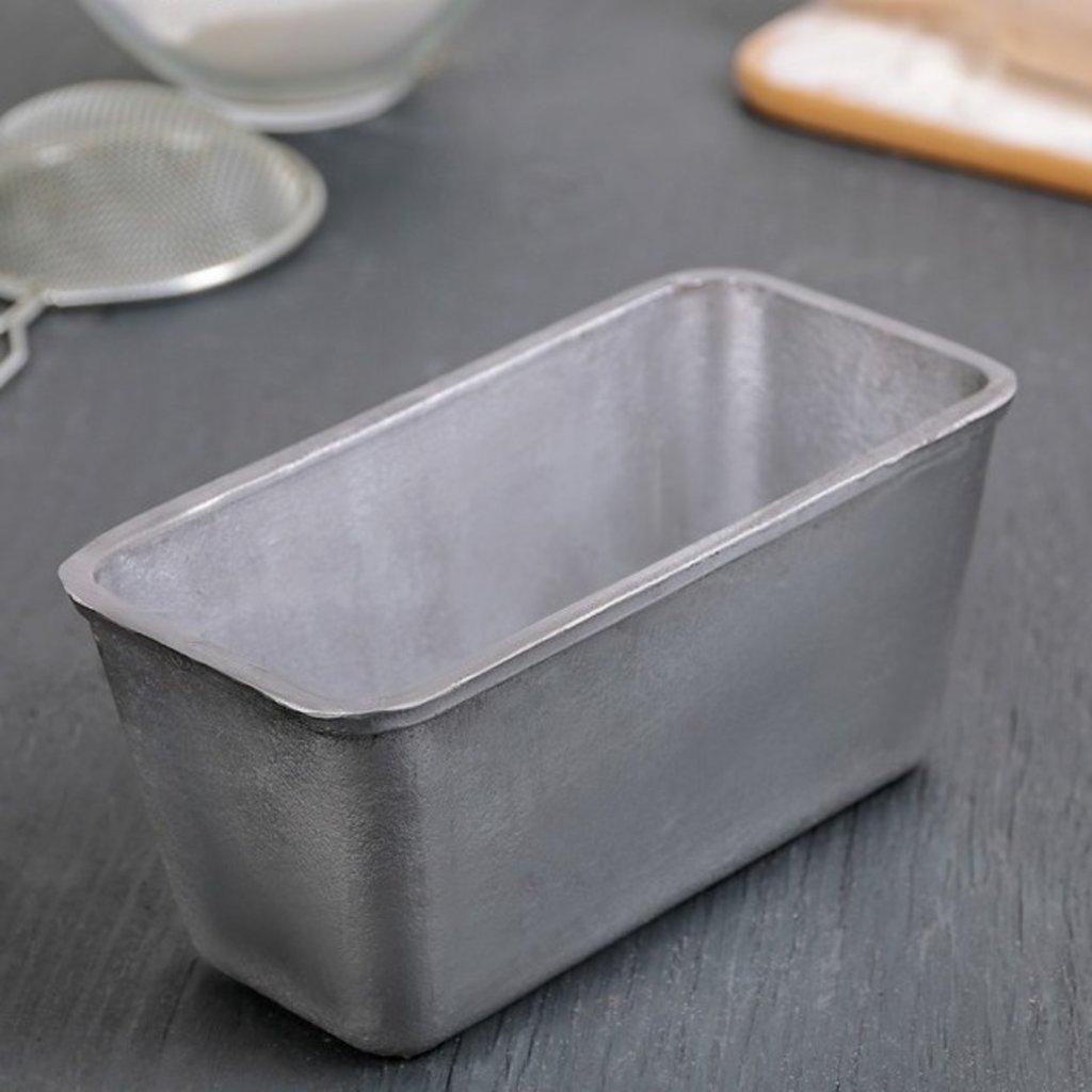 Металлические и разъёмные формы для выпечки: Форма хлебопекарная Л12, 16х8х8,5 см в ТортExpress
