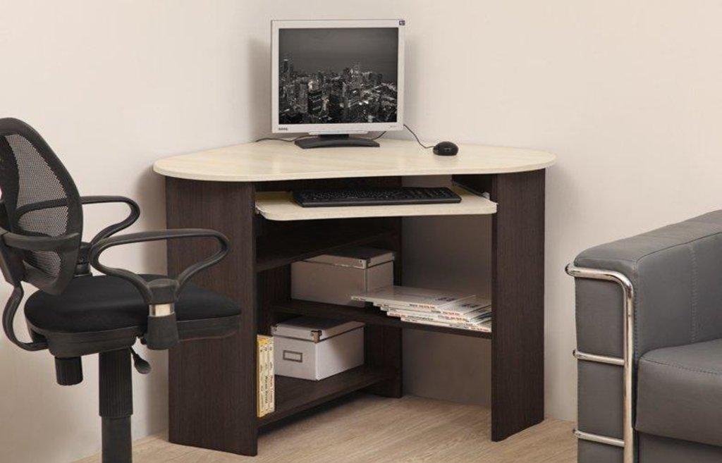 Компьютерные столы: Стол компьютерный ПКС-4 (Олмеко) в Стильная мебель