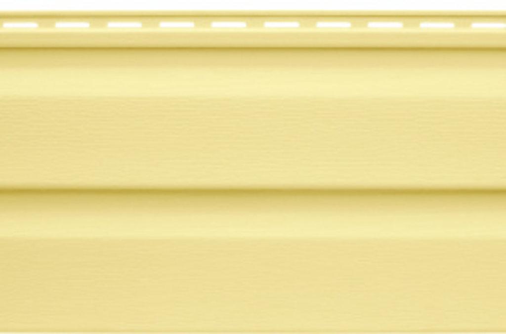 Виниловый Сайдинг: Панель виниловая жёлтая Т-01 - 3,66м в АНЧАР,  строительные материалы
