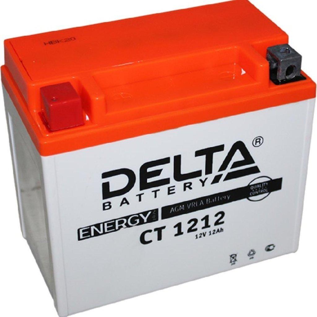 Delta: DELTA CT 1212 12Ah в БазаАКБ