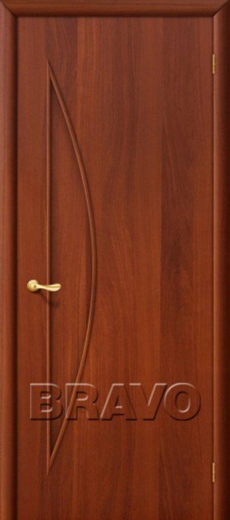 Двери ламинированные BRAVO: 5Г Л-11 (ИталОрех) в STEKLOMASTER