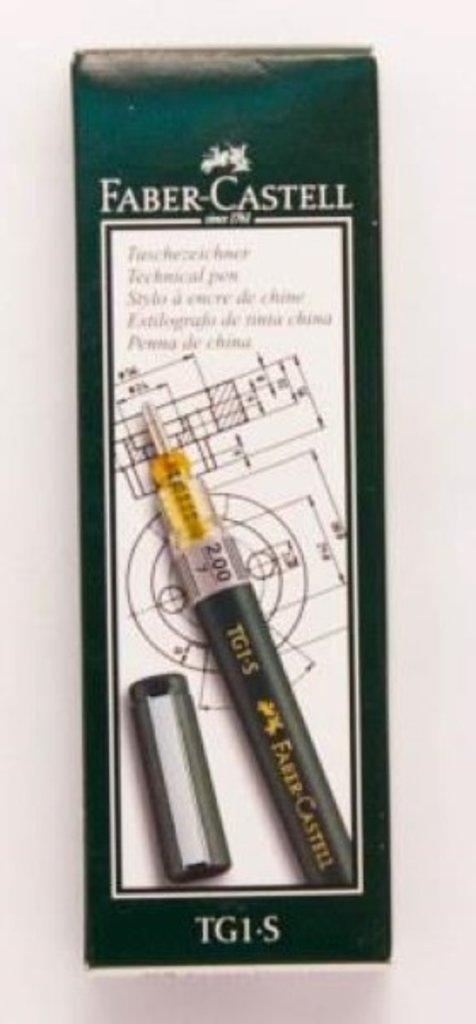 Изографы, рапидографы: Рапидограф Faber-Castell TG-1 2,00 мм в Шедевр, художественный салон