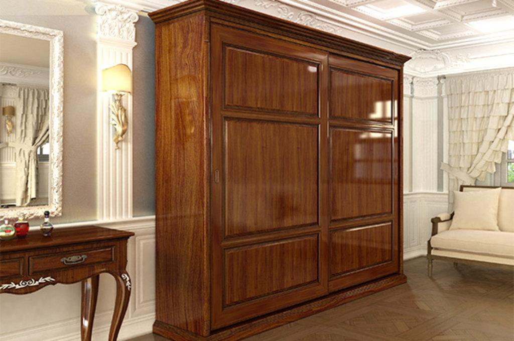 Система раздвижных дверей LIVING BASE: Направляющая верхняя врезная, L=3000мм, отделка бронза в МебельСтрой
