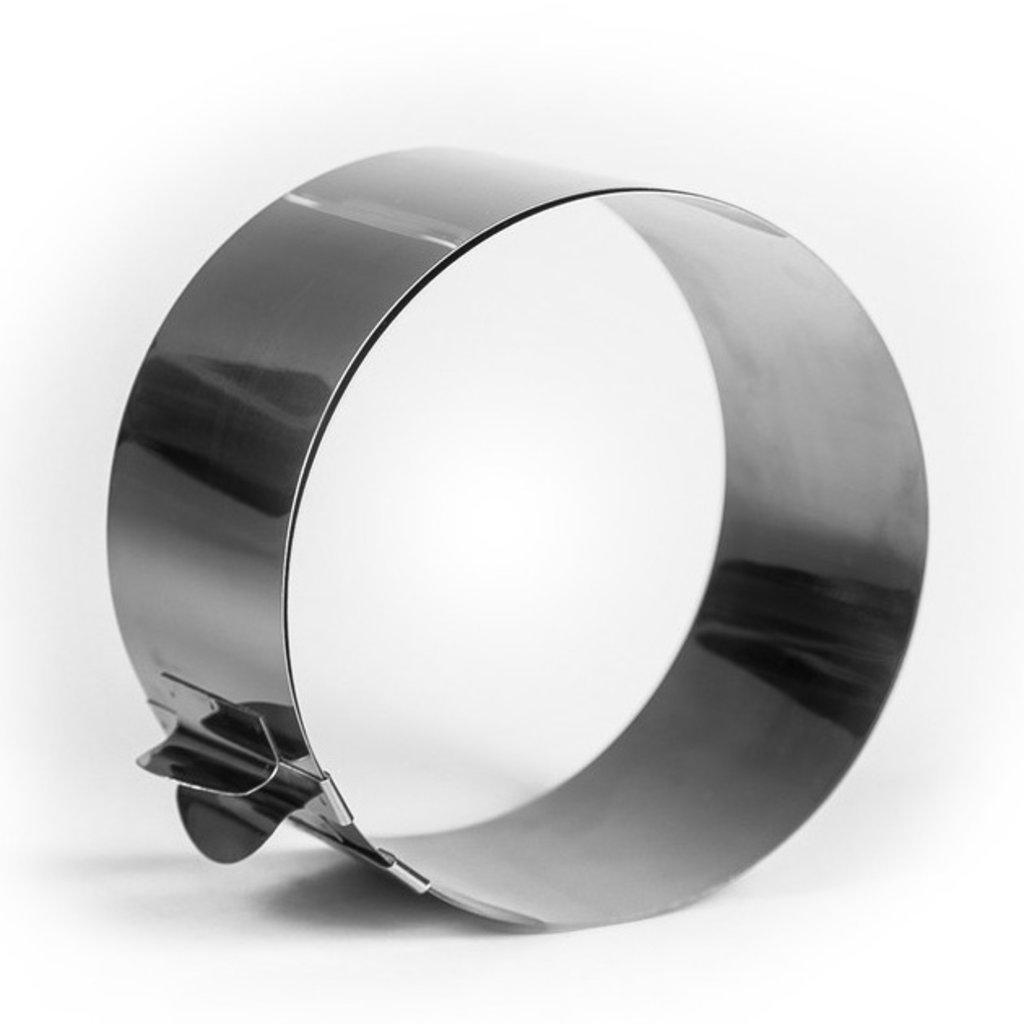 """Кольца для выпечки и выкладки: Форма для выпечки и выкладки с регулировкой размера """"Круг"""" 12-20 см,высота 5см в ТортExpress"""