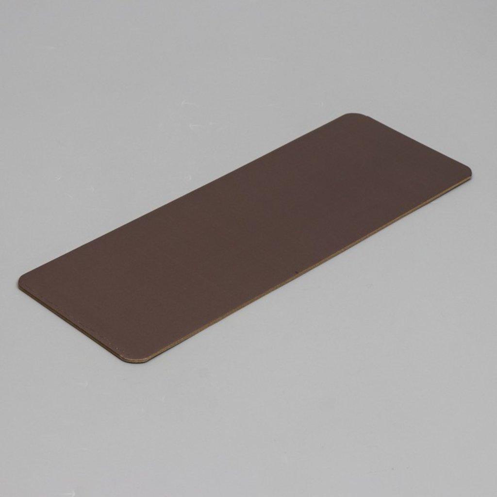 Салфетки, подложки: Подложка 105х305мм золото/кофе 3,2мм в ТортExpress