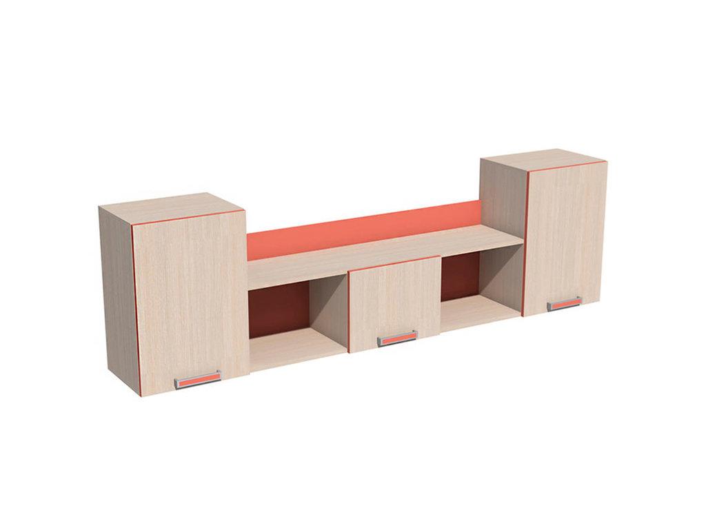Полки детские: Полка НМ 011.39-02 Рико в Стильная мебель