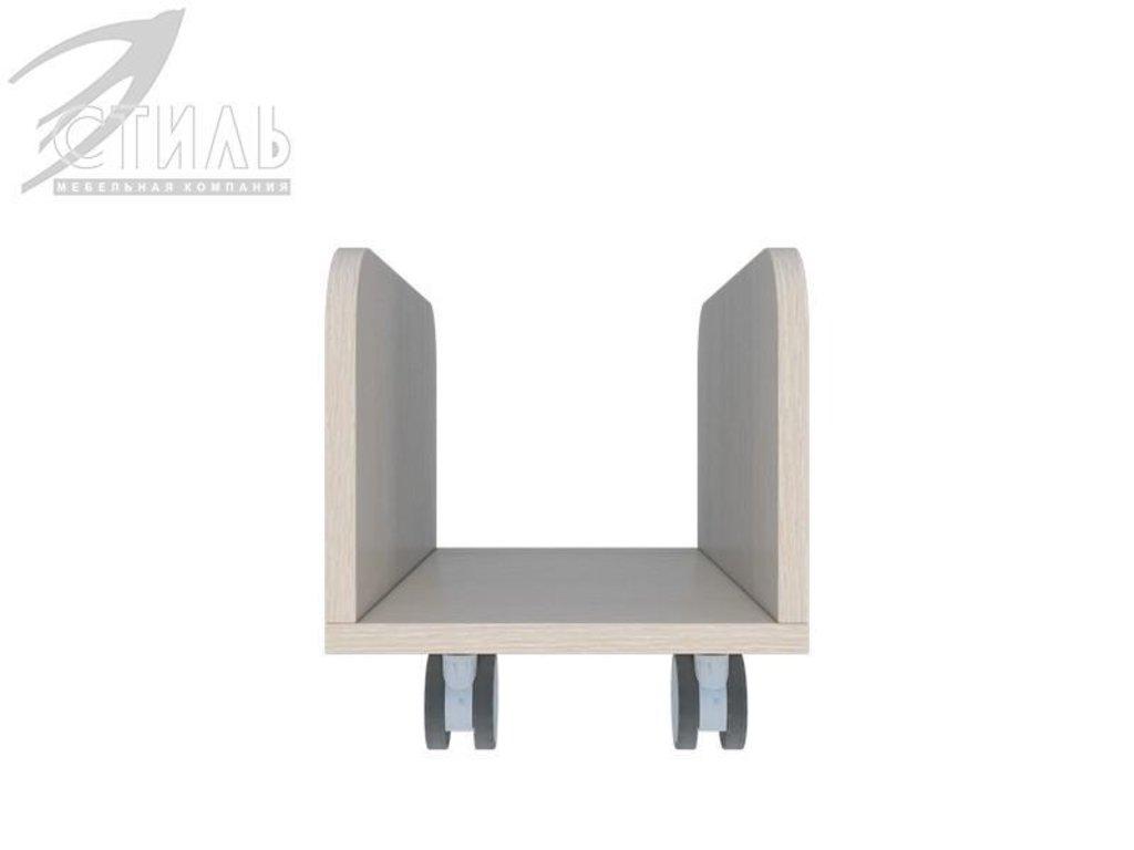 Мебель для детской Мийа - 3 (дуб молочный, фотопечать): Подставка под процессор ППК-305 Мийа - 3 в Диван Плюс
