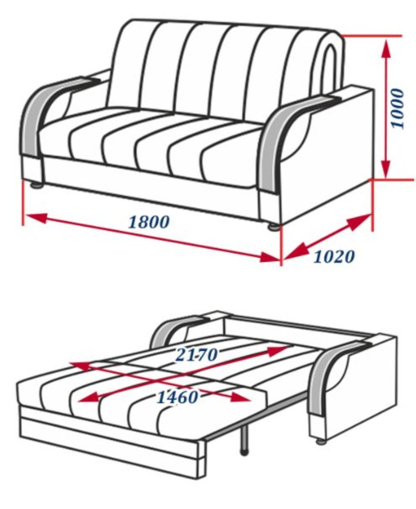 Диваны и мягкие кресла: Диван Аккорд в Стильная мебель