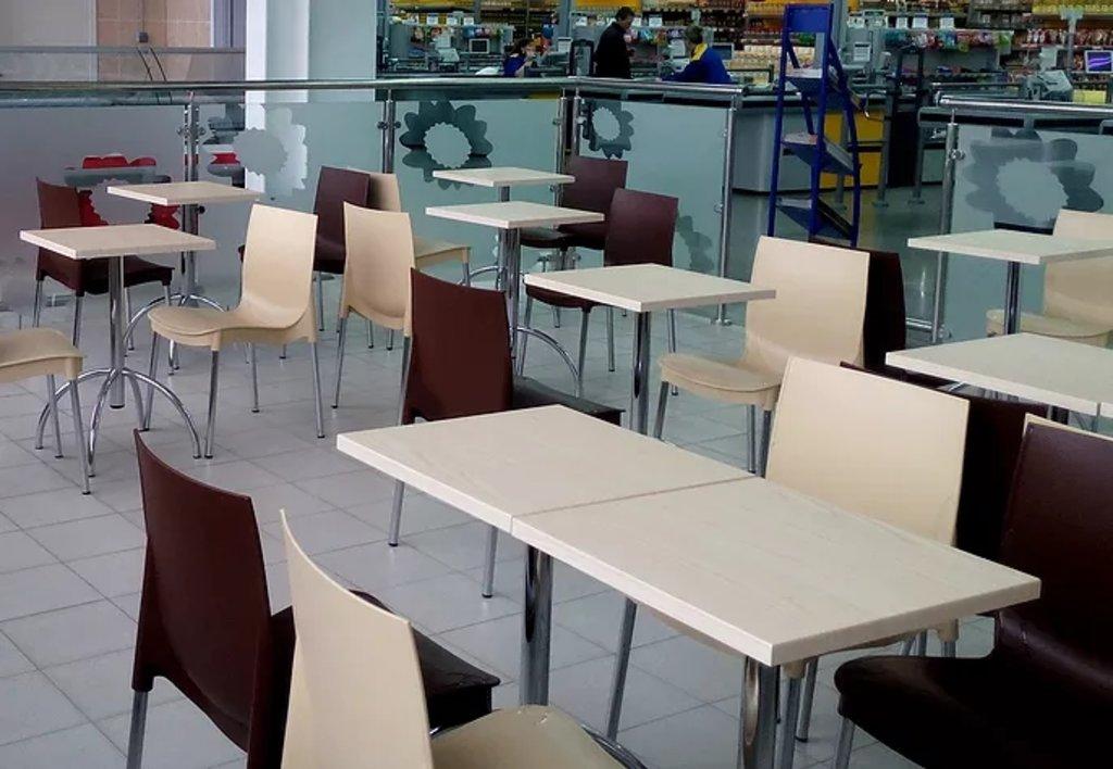Стулья для кафе, фуд-корта: Стул ПР-1 (хром) в АРТ-МЕБЕЛЬ НН