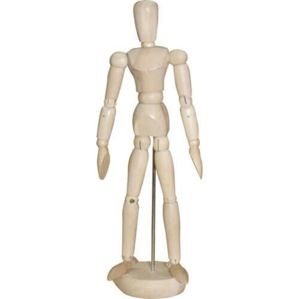 Дерево,МДФ: Манекен человека 50см мужской в Шедевр, художественный салон