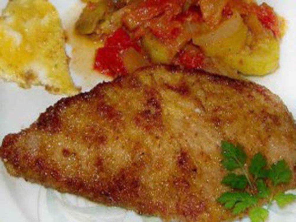 Вторник: Эскалоп из свинины в соусе с гарниром (280 гр) в Смак-нк.рф
