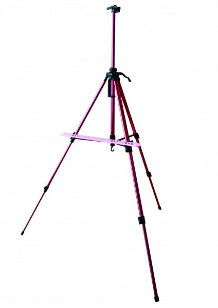Мольберты: Мольберт Тренога  алюминиевый  Малевичъ МЛ-04 розовый металлик в Шедевр, художественный салон